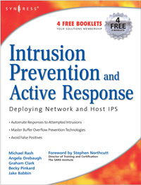 Intrusion Prevention Book Chapter Posted